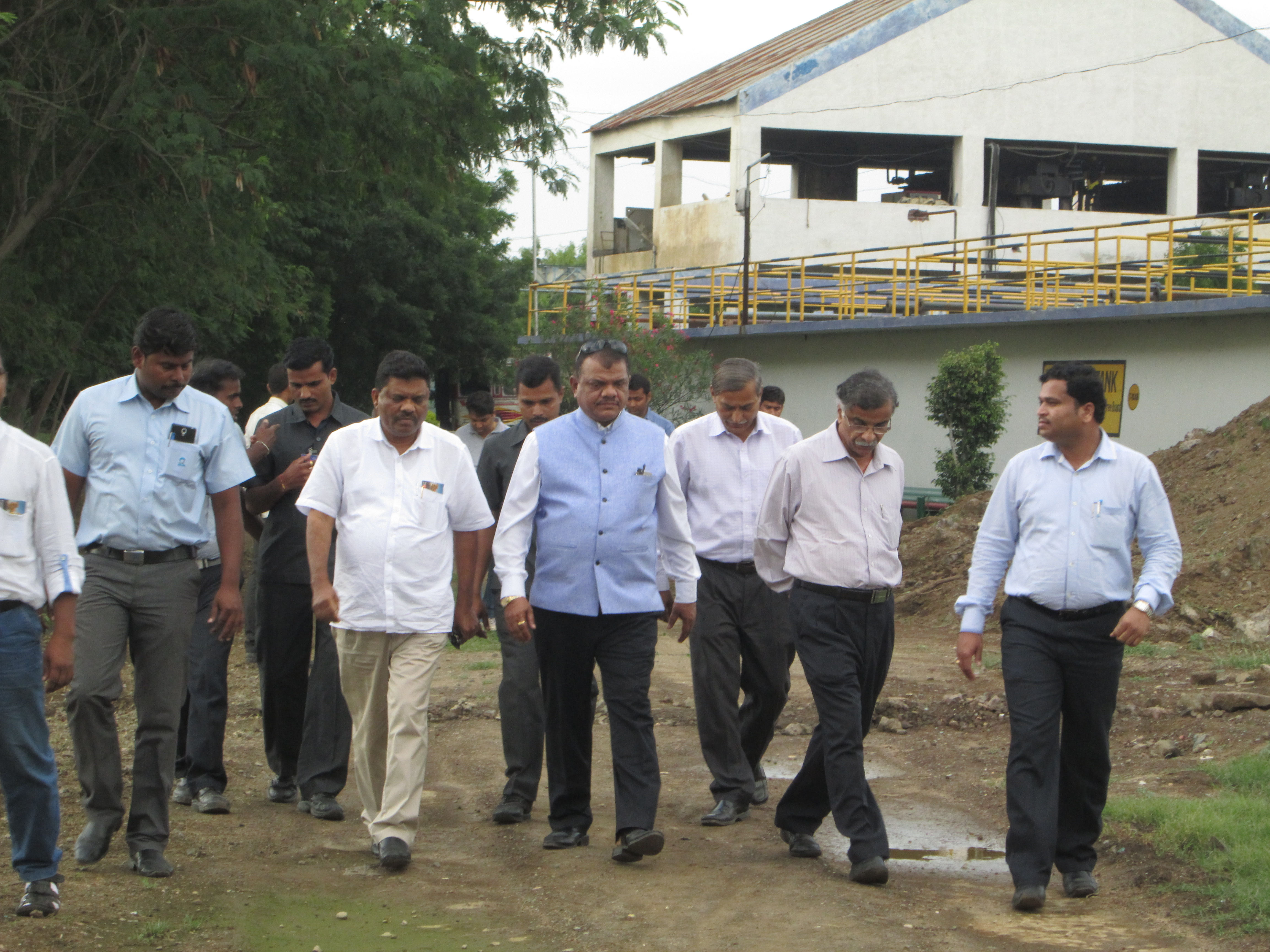 goa industrial minister Visit